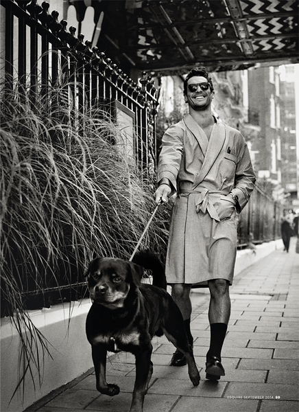 David Gandy, Esquire UK