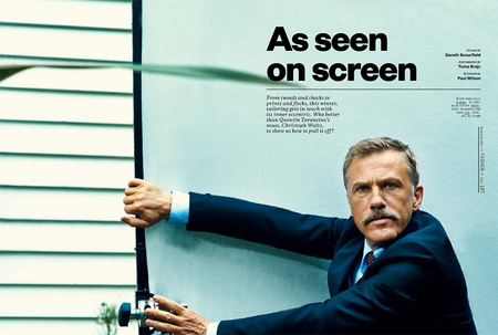 Christop Waltz, Esquire UK